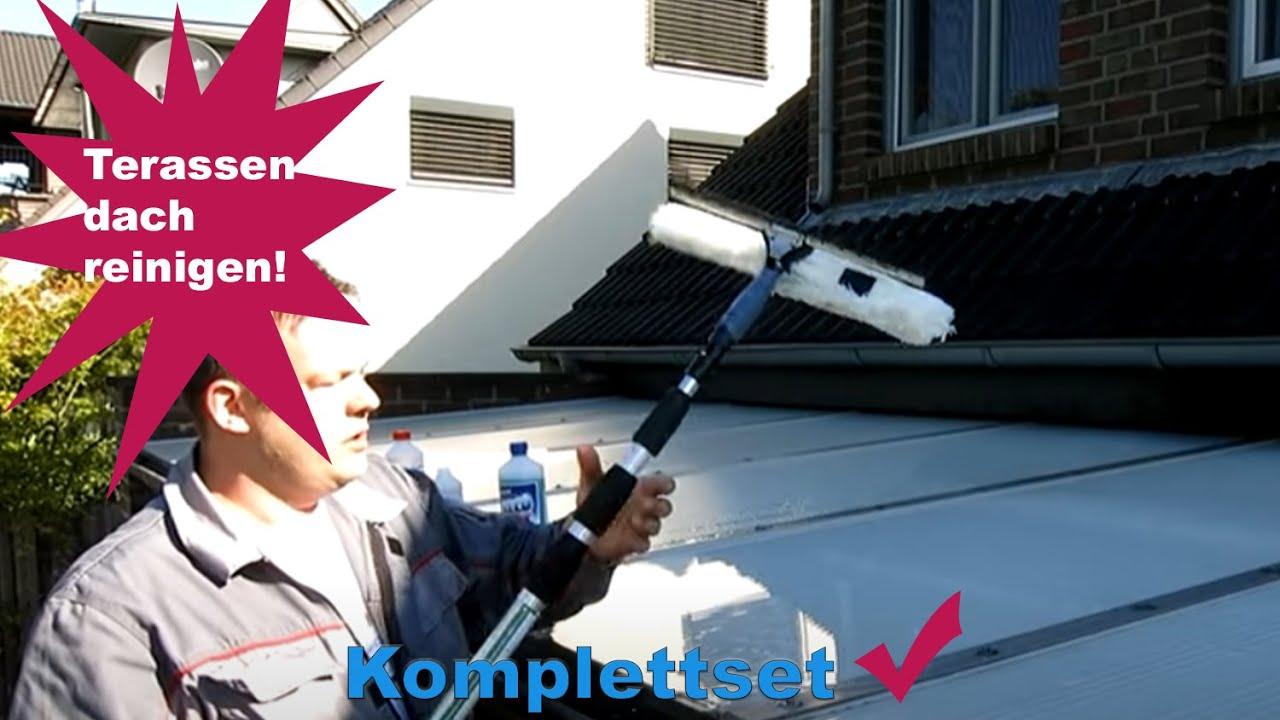 Top Terrassendach oder Wintergarten selber reinigen mit unserem Set PN93