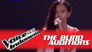 """Indira """"Chandelier"""" I The Blind Auditions I The Voice Kids Indonesia GlobalTV 2016"""