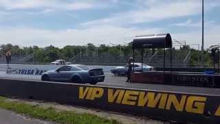 1975 Ford Maverick 2015 Mid-America Ford Shelby Nationals Tulsa Raceway Park