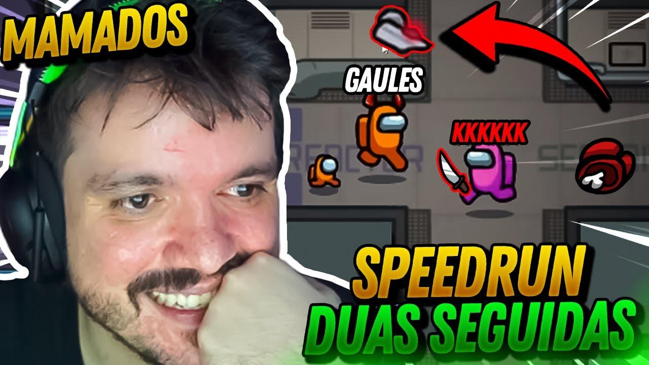 GAULES FEZ O IMPOSSIVEL 1000QI E CARREGOU A NAVE DUAS SEGUIDAS!!