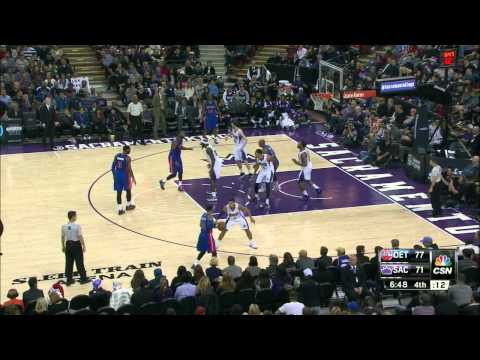 Caron Butler Highlights Pistons vs. Kings 12.13.2014 - 2 Points, 1 Block