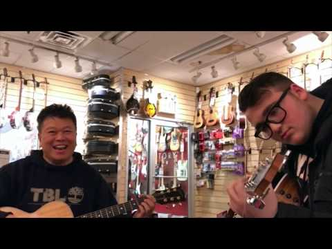What's Up? by 4 Non Blondes Jamming at Sam Ash Music Store
