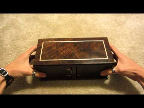 MTG Unboxing - Custom Switchblade Deck Box Made by Aaron Cain - Demi