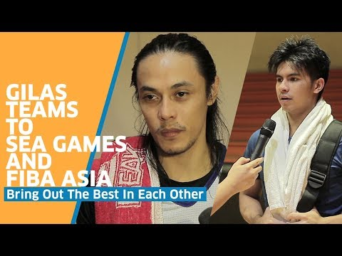 Gilas Teams to SEA Games and FIBA Asia Bring Out the Best in Each Other