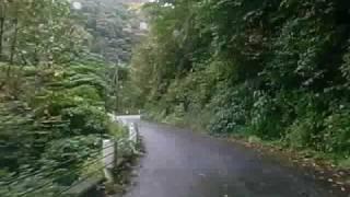 朝日スーパー林道【県道鶴岡村上線(349号線)】奥三面ダムまで.(1)