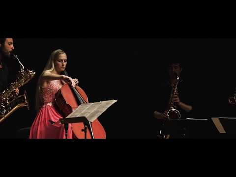 Margarita Balanas & SIGNUM saxophone quartet : Bach Air on G