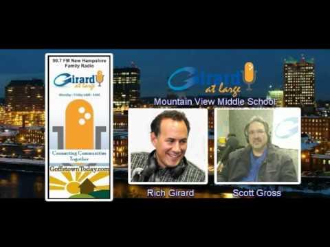 Mountain View Middle School interview with Goffstown Selectman, Scott Gross
