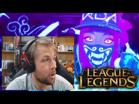 Kiwi REACTS !! K/DA - POP/STARS Music Video   League of Legends