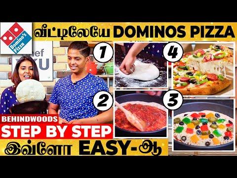 Download 😍PIZZA BASE to CHEESY SAUCE INSIDE🤤 வரைக்கும் நீங்களே செய்யலாம்! DOMINOS CHEESE BURST PIZZA-Chef YKU
