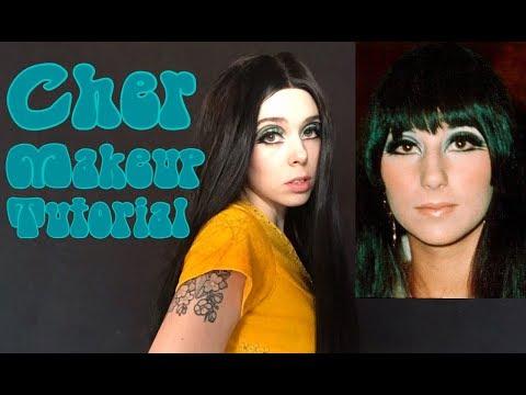 Cher Inspired Makeup Look