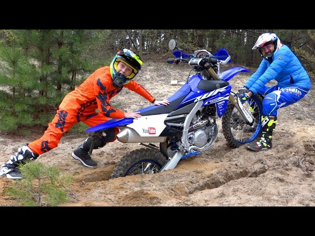 КАК теперь ВЫБРАТЬСЯ???Test Drive The Cross Bike and PitBike!!!