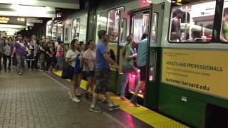 Boston T Green Line Park Street