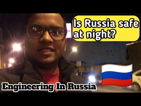 Is Russia safe at night?//Engineering Student In Russia|| Saint petersburg
