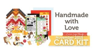 Simon Says Stamp November Card Kit Reveal