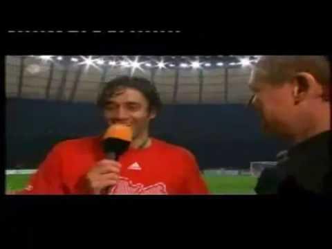Luca Toni vs. Franck Ribéry (lustiges Interview)