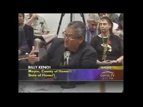 Mayor Kenoi briefs the Ways & Means Committee 1-15-13