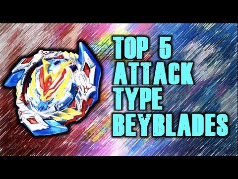 Top 5 Favorite Attack Type Beyblades | Beyblade Burst Rankings