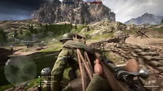 Battlefield 1: Epic sniper shot,first blood headshot,PS4 pro.