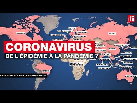 CORONAVIRUS: de l'épidémie à la pandémie ?