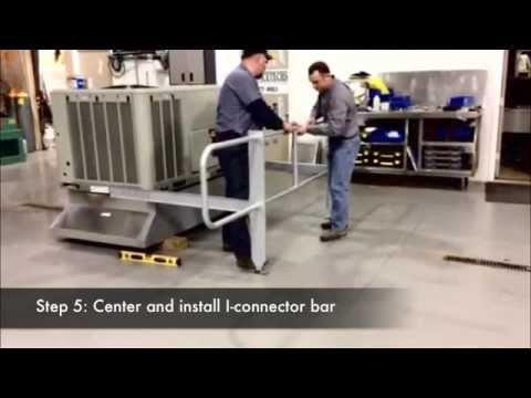 Mailahn Innovation Rooftop Guardrail System/Kit