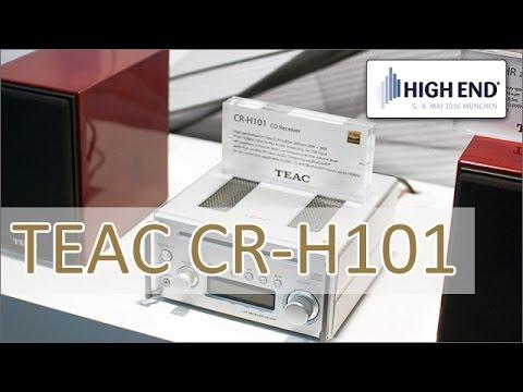 High End 2016: TEAC CR-H101 Mini HiFi-Anlage