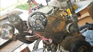 Motorschaden Neuaufbau und 5,3 sek von 100 auf 200