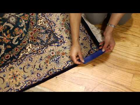 How to Uncurl a Rug : Rug Care