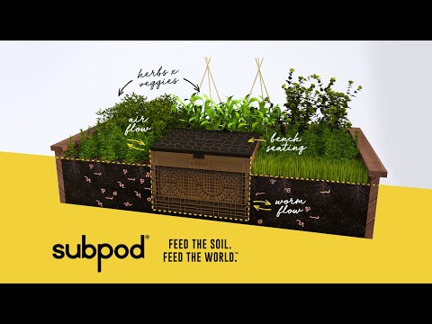 This innovative composting crate can repair the earth's soil