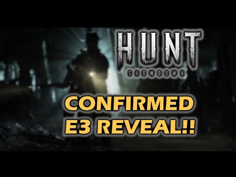 Hunt: Showdown - Crytek E3 reveal confirmed (Horrors of the Gilded Age)