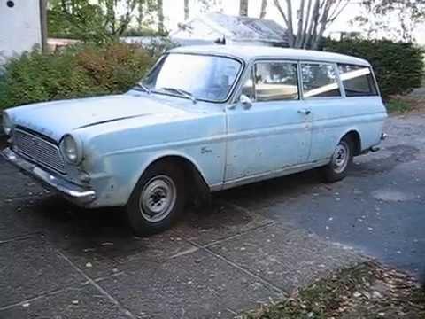 Ford Taunus 12M 1500 V4 1966 käy