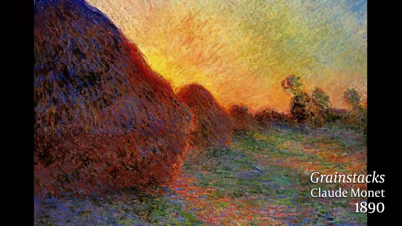 Claude Monet Cuadros Claude Monet And Impressionism 60 Second Art History Lesson