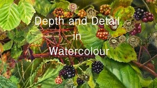 DVD - Depth and Detail in Watercolour with Elizabeth Tyler