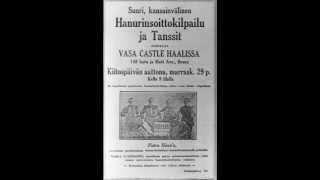 Viola Turpeinen tanssit Kiipillä, Antti Syrjäniemi ja Willy Larsen v.1929