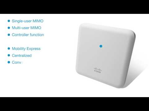 Cisco Aironet 1850 Series Access Points - YouTube