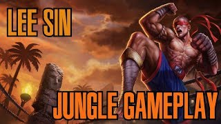 League of Legends /Full Gameplay of Lee Sin/ Patch 8.3