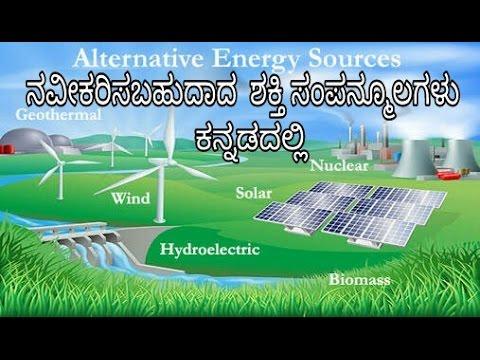 Renewable energy resources|ನವೀಕರಿಸಬಹುದಾದ  ಶಕ್ತಿ ಸಂಪನ್ಮೂಲಗಳು |windmill |solar panels| kannada(ಕನ್ನಡ)
