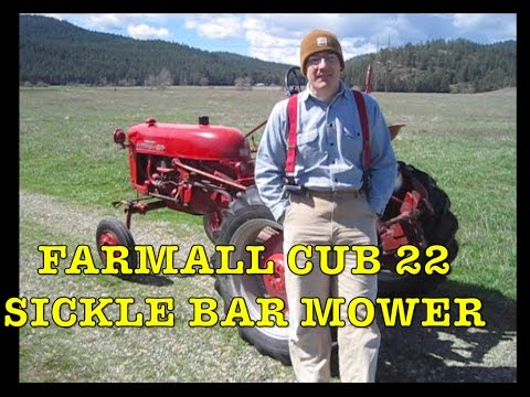 farmall cub 22 mower