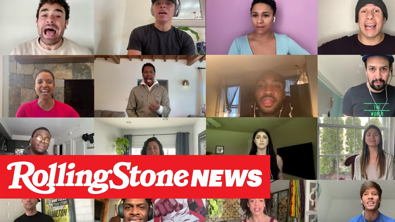 Lin-Manuel Miranda, 'Hamilton' Cast Reunite on John Krasinski's YouTube Show | RS News 4/6/20