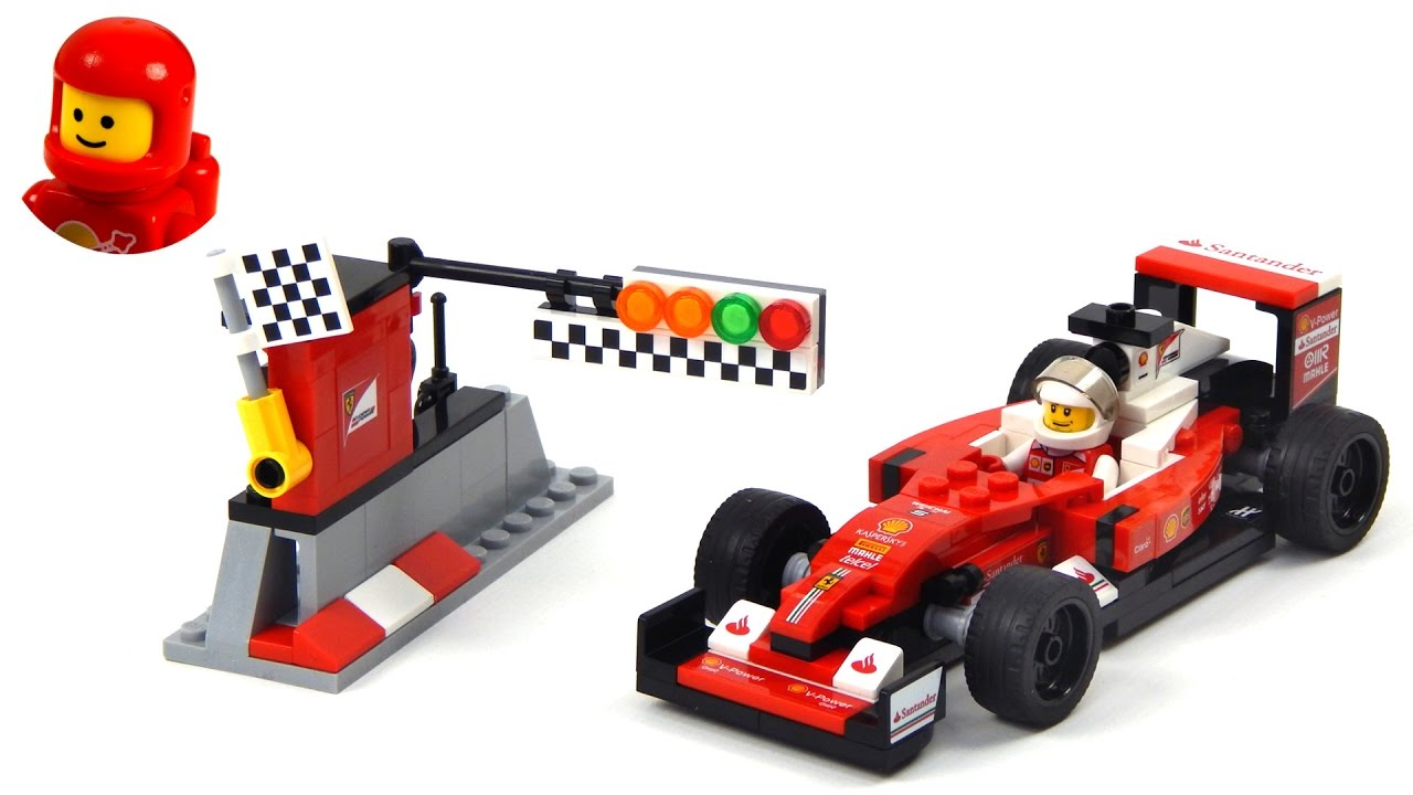 lego speed champions 75879 scuderia ferrari sf16 h lego speed build youtube. Black Bedroom Furniture Sets. Home Design Ideas