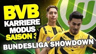 BUNDESLIGA SHOWDOWN - Topspiel Gegen VfL Wolfsburg ♕ FIFA 17 Karrieremodus BVB S3 #54