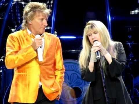 Stevie Nicks & Rod Stewart - Young Turks/Leather and Lace - 04-05-2011