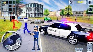 US Police Car Chase Driver Simulator - Crime Transport Prisoner Driving - Android GamePlay screenshot 5