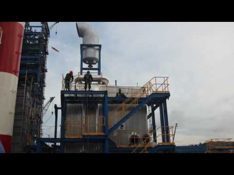 Auxiliary boiler of thermal power plant Part 1 - YouTube