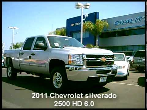 2011 Chevrolet Silverado Hd 2500 60 Youtube