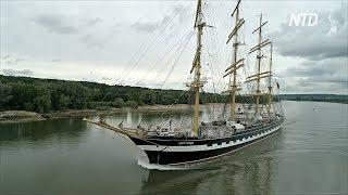 «Руанская армада» собрала 50 парусников и военных судов со всего мира