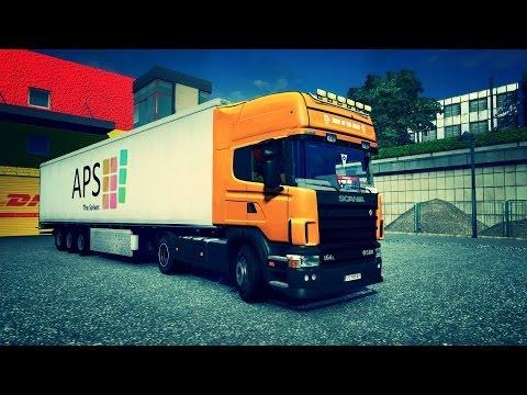 Катаем грузовики по России и Европе Онлайн стрим Таскаем фуры Возим грузы Игра про рабочие машины