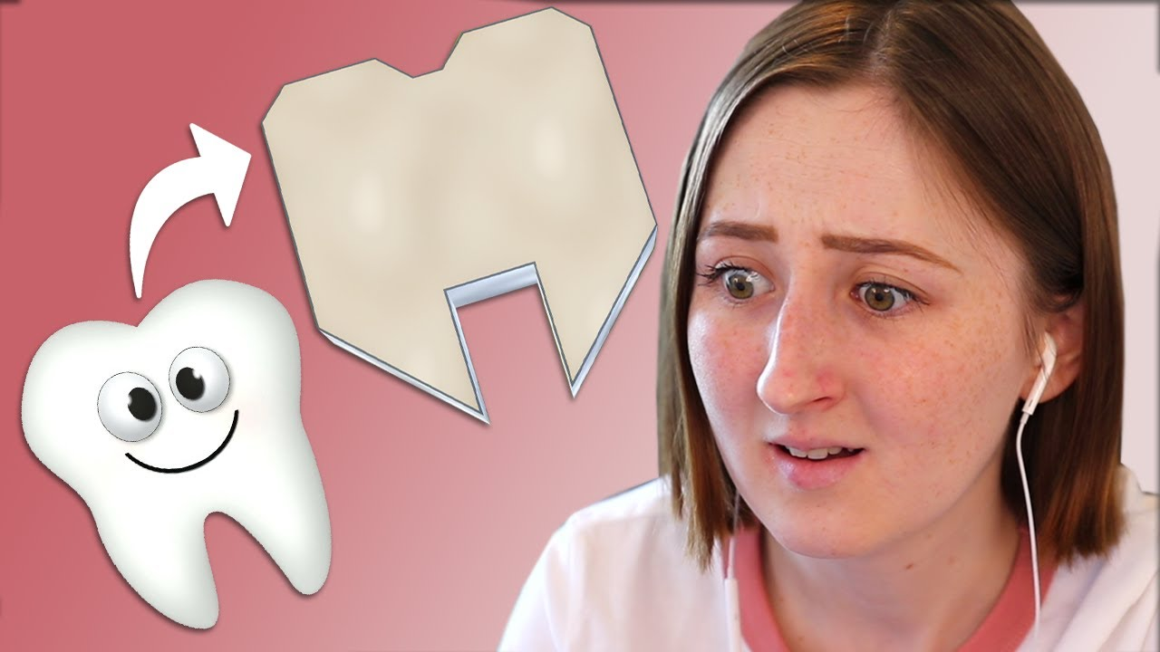 I built a house shaped like a tooth in The Sims thumbnail