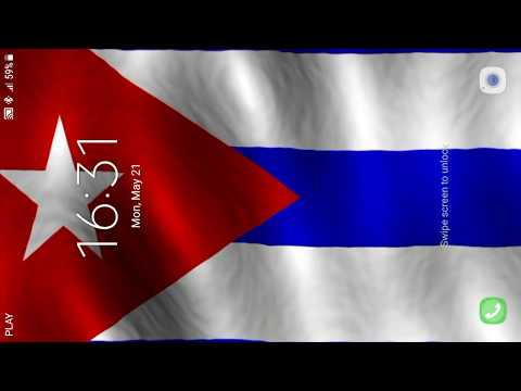 3D Cuba Flag Live Wallpaper Apper Pa Google Play