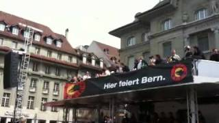 SC-Bern Schweizermeister 2010 Bundesplatz Meisterfeier Marc