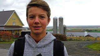 Un éleveur de moutons de 14 ans